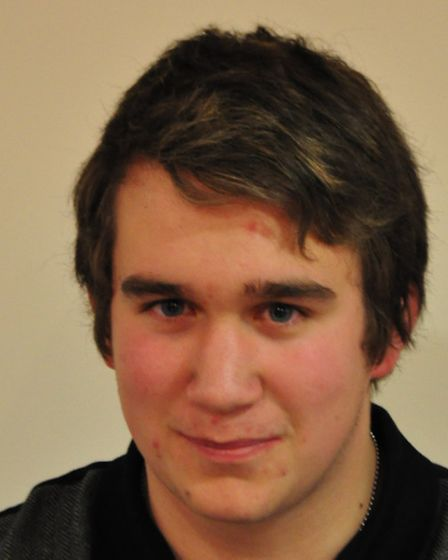 Kieren Buxton, member of the youth parliament for Norwich South.