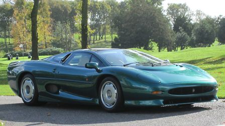 This 1994 Jaguar XJ220 is estimated to sell for £200,000 to £220,000 at auction.