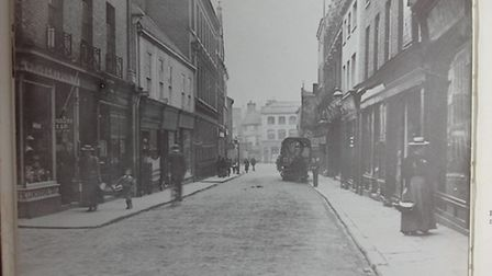 Before the bulldozers: St Stephens, Norwich, in 1895.