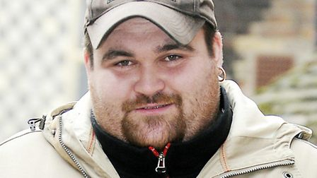 Michael Carroll, who won £9.7m, on his way to a court appearance.Picture: Matthew Usher