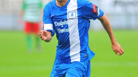 Remy Gordon was on the scoresheet, again, for Wroxham on Saturday. Picture: STEVE ADAMS