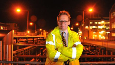 Briar Chemicals site manager Tim Green at the Norwich facility.Picture by SIMON FINLAY.