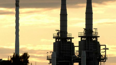 Bacton gas terminal; picture by Adrian Judd; for EDP