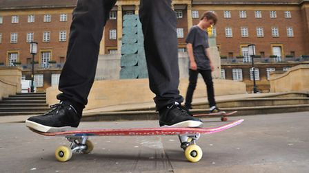 There could be a rethink over a proposal to bring in a bylaw to ban skateboarders from parts of Norw