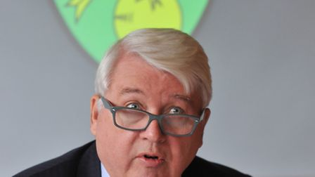Norwich City chairman Alan Bowkett will be part of the club's board at Tuesday's annual meeting. Pho