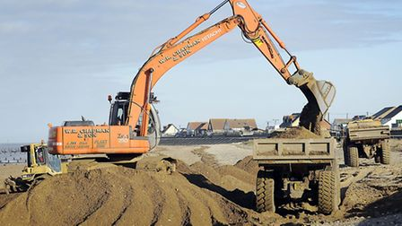 Businesses will soon pay for maintaining the sea defences. Picture: Matthew Usher