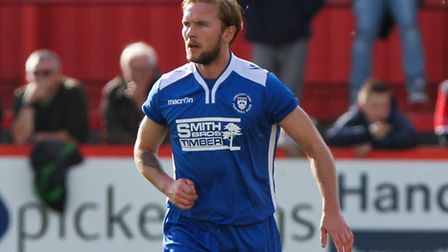 Lowestoft Town winger Robert Eagle. Picture Tom Smith/Focus Images