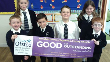 Homefield in Bradwell is celebrating a good set of Ofsted results buoyed by an outstanding judgement