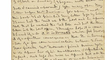 This letter from Lord Admiral Nelson to his mistress Lady Emma Hamilton is expected to fetch more th