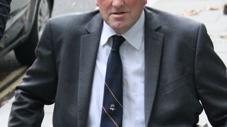 Tony Tomlinson during a break in hearing in his High Court dispute with former friend John Pickup. P