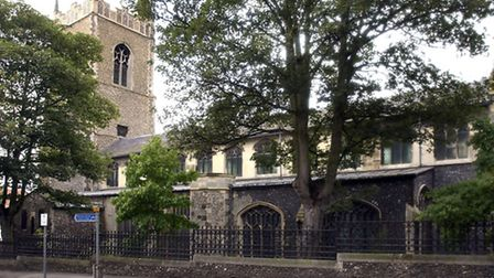 The Church of St Lawrence, in St Benedicts Street, Norwich.