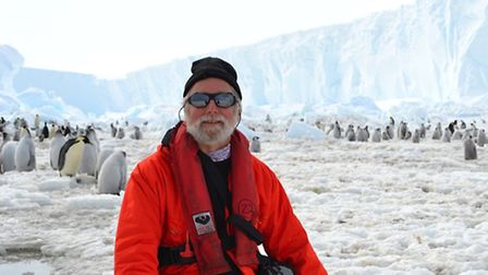 Ray Thirkettle is off to the Antarctic. Picture: Ian Burt