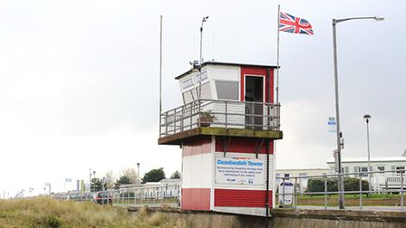 North Denes Coastwatch tower in Great Yarmouth.Picture: James Bass