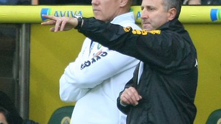 Neil Adams knows he is under pressure at Norwich City. Picture by Paul Chesterton/Focus Images Ltd