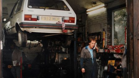 Trunch Garage owners celebrate 25 years in the business and the their move to new premises in the vi