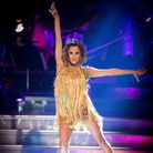 For use in UK, Ireland or Benelux countries only. BBC handout photo of Caroline Flack during tonight