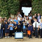 Pupils at Taverham Hall Preparatory School have been making toys and tools for pupils at Harford Man