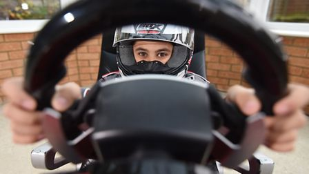 Joshua Vallance (10) from Dereham is on course to becoming the next big name in motor racing.