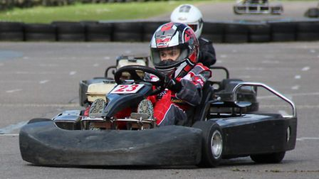 Young Josh Vallance, from Dereham, who is hoping to be the next Lewis Hamilton. Picture: submitted