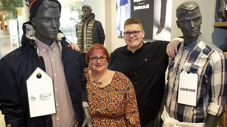 Opening of the new Simply Me/Jacamo store in the Intu Chapelfield shopping mall, with Rachel Clarke