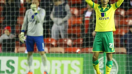 Norwich City's players under-performed in a 4-0 Championship mauling at Middlesbrough. Picture by Pa