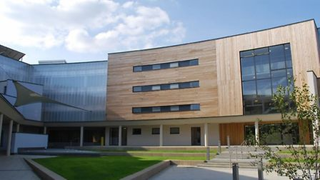 Wymondham College , where the percentage of pupils achieving the government's gold standard for GCSE