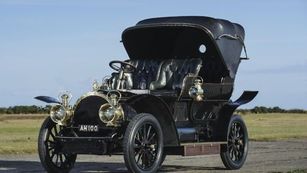 The 1905 Gardner-Serpollet once bought by the late George Milligen, of East Ruston, for £450 which h