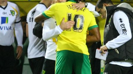 Cameron Jerome's knee is causing him no fitness issues ahead of Norwich City's trip to Middlesbrough