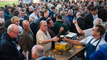 37th Norwich Beer Festival in St Andrews and Blackfriars Halls. Photo: Bill Smith