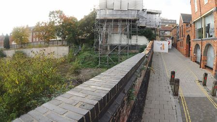 Orbit Homes wants to build more than 400 homes at the derelict St Anne's Wharf site. Picture: Denise