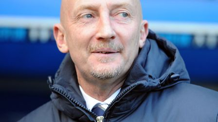 Millwall's Manager Ian Holloway during the Sky Bet Championship match at The New Den, London. PRESS
