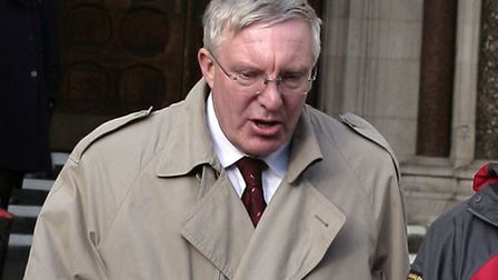 Peter Haynes outside London's High Court. Picture: Champion News Service Ltd