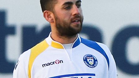 Erkan Okay has been in impressive form for Lowestoft since his return from a groin injury.