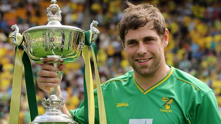 NCFC v Coventry. Player of the Year 2010/11 Grant Holt.; Photo: Bill Smith