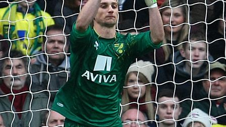 Declan Rudd has had to bide his time at Norwich City this season. Picture by Paul Chesterton/Focus I