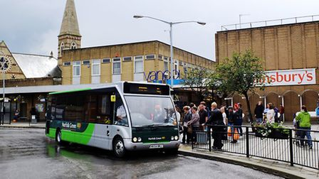 King's Lynn bus station, which is set for a £1.6m refurb. Picture: Chris Bishop