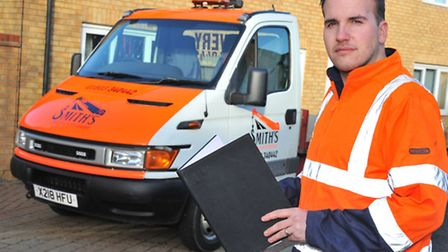 Andre Smith, who used to be a traffic warden, has launched his own business as a recovery driver and