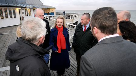 The Rt Hon Elizabeth Truss, the Conservative MP for South West Norfolk and Secretary of State for En