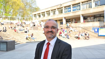 Prof Neil Ward, who welcomed the announcement. PHOTO BY SIMON FINLAY