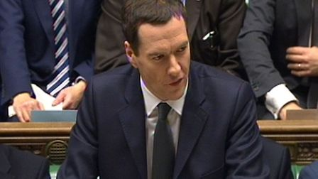 Chancellor George Osborne delivers his Autumn Statement to MPs in the House of Commons. Photo: PA Wi