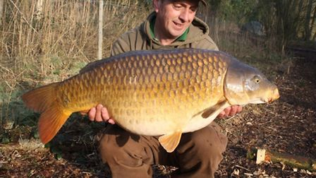 One of John Bailey's great pals, Bob Anderson, with a cracking Cobbleacre common.