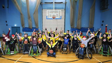 Norwich Lowriders basketball team.Picture: ANTONY KELLY