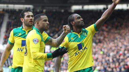 Cameron Jerome notched his 11th goal of the season for Norwich City in a 2-2 Championship draw at De