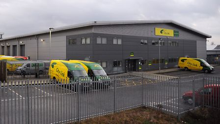 City Link at the Broadland Business Park, where there is a risk of job losses. Picture: DENISE BRADL