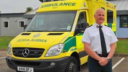 Anthony Marsh, the chief executive of the East of England Ambulance Trust. Photo: Steve Adams