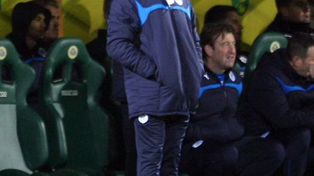 Huddersfield manager Chris Powell was not impressed with the Terriers second-half showing. Picture b