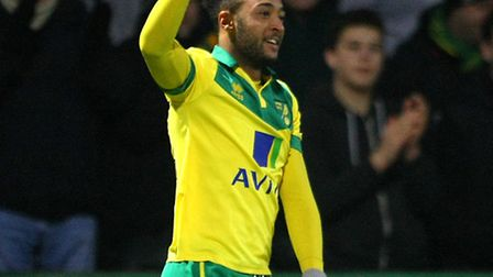 Nathan Redmond notched his first Norwich City goal of the season. Picture by Paul Chesterton/Focus I