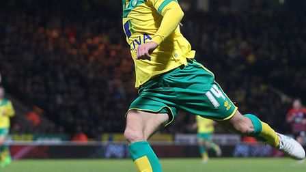 Wes Hoolahan is back in the fold at Norwich City after an ankle injury. Picture by Paul Chesterton/F