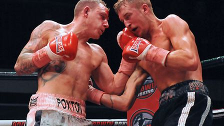 Craig Poxton loses on points to George Jupp in a fight for the vacant BBBofC Southern Area super fea