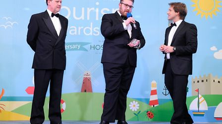 EDP Norfolk Tourism Awards 2014 at the Holiday Inn, Norwich North. Winners of Coastal Leisure award